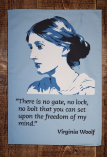 VIRGINIA WOOLF TEA TOWEL,  Book