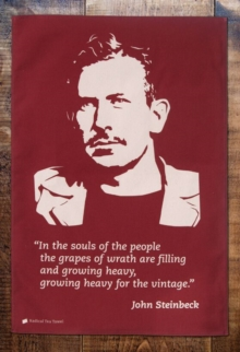 John Steinbeck Tea Towel,  Book
