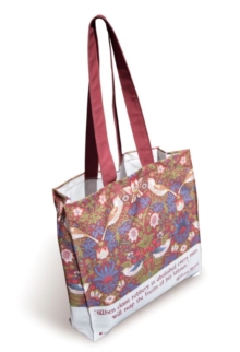 WILLIAM MORRIS STRAWBERRY THIEF TOTE BAG,  Book