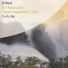 JS BACH: SIX SUITES FOR UNACCOMPANIED CELLO, CD / Album Cd