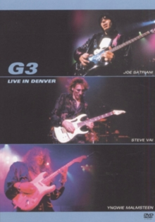 G3: Live in Denver, DVD  DVD