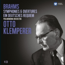 Brahms: Symphonies & Overtures/Ein Deutsches Requiem, CD / Album Cd