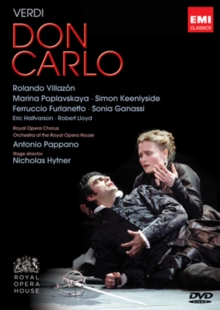 Don Carlo: The Royal Opera House (Pappano), DVD  DVD