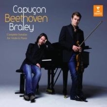 Capucon/Beethoven/Braley: Complete Sonatas for Violin and Piano, CD / Album Cd