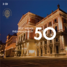 50 Best Wiener Philharmoniker, CD / Album Cd