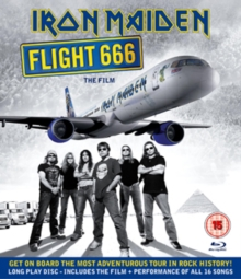 Iron Maiden: Flight 666, Blu-ray  BluRay