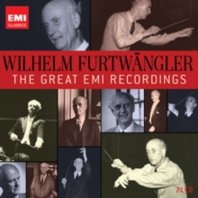 Wilhelm Furtwangler: The Great EMI Recordings, CD / Box Set Cd