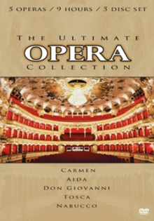 The Ultimate Opera Collection, DVD DVD