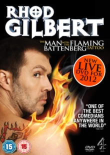 Rhod Gilbert: The Man With the Flaming Battenberg Tattoo, DVD  DVD