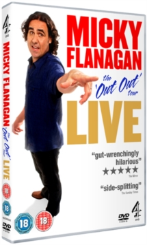 Micky Flanagan: The Out Out Tour - Live, DVD  DVD