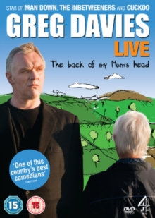 Greg Davies: The Back of My Mum's Head, DVD  DVD