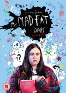 My Mad Fat Diary: Series 1-3, DVD  DVD