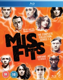 Misfits: Series 1-5, Blu-ray  BluRay