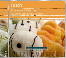 Fasch: Concertos and Overture, CD / Album Cd