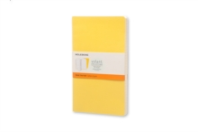 Moleskine Large Volant Sunflower Yellow/Brass Yellow Ruled Journal, Paperback Book