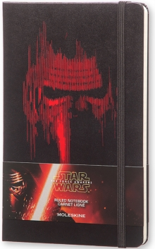 Moleskine Star Wars VII Limited Edition Lead Villain Large Ruled Notebook, Paperback Book