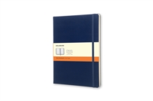 Moleskine Extra Large Prussian Blue Hardback Notebook, Paperback Book