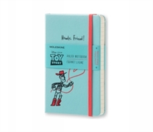 Moleskine Toy Story Limited Edition Light Blue Pocket Ruled Notebook, Paperback Book