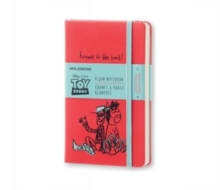 Moleskine Toy Story Limited Edition Geranium Red Pocket Plain Notebook, Paperback Book