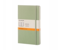 MOLESKINE WILLOW GREEN LARGE RULED NOTEB, Notebook / blank book Book