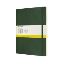 EXTRA LARGE SQUARED SOFTCOVER NOTEBOOK M, Paperback Book