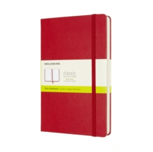 EXPANDED LARGE PLAIN HB NOTEBOOK: SCARLE,  Book