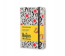 Moleskine The Beatles Pocket Ruled Limited Edition Notebook, Paperback Book