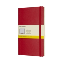 MOLESKINE SCARLET RED LARGE SQUARED NOTE, Notebook / blank book Book