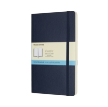 Moleskine Sapphire Blue Large Dotted Notebook Soft, Paperback Book