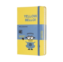 Moleskine Minions Limited Edition Sunflower Yellow Pocket Ruled Notebook Hard, Paperback Book