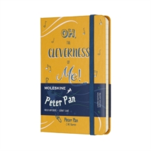 Moleskine Peter Pan Limited Edition Peter Orange Yellow Pocket Ruled Notebook Hard, Paperback Book