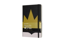 Moleskine Snow White Limited Edition Crown Large Ruled Notebook Hard, Paperback Book