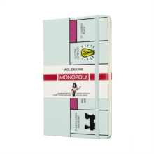 Moleskine Monopoly Board Limited Edition Notebook Large Plain, Paperback Book