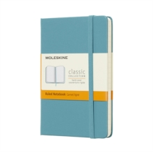 Moleskine Reef Blue Notebook Pocket Ruled Hard, Paperback Book