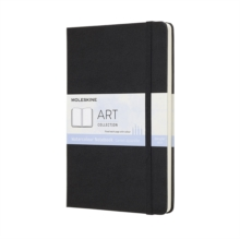 Moleskine Black Watercolour Notebook Large, Paperback Book