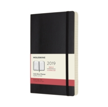 2019 Moleskine Black Large Daily 12-month Diary Soft, Paperback Book
