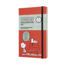 2019 Moleskine Peanuts Limited Edition Notebook Blue Large Weekly 12-month Diary, Paperback Book