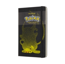 Moleskine Pokemon Pikachu Limited Edition Notebook Large Ruled, Paperback Book