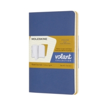 VOLANT JOURNALS POCKET RULED FORGETBLUE,  Book