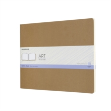 ART XXL SKETCH ALBUM KRAFT BROWN, Hardback Book
