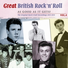 Great British Rock 'N' Roll: The Original Rock 'N' Roll Recordings 1953-1959, CD / Album Cd