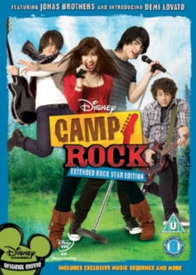 Camp Rock, DVD  DVD