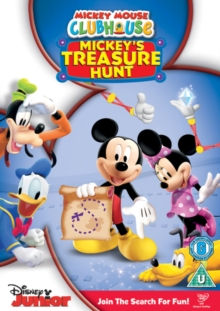 Mickey Mouse Clubhouse: Treasure Hunt, DVD  DVD