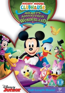 Mickey Mouse Clubhouse: Mickey's Adventures in Wonderland, DVD  DVD