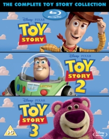 Toy Story 1-3, Blu-ray  BluRay