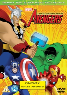 The Avengers - Earth's Mightiest Heroes: Volume 1, DVD DVD
