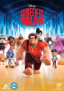 Wreck-it Ralph, DVD  DVD