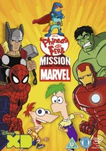 Phineas and Ferb: Mission Marvel, DVD  DVD
