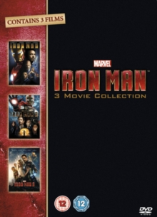 Iron Man 1-3, DVD  DVD