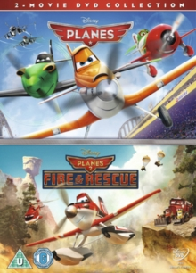 Planes/Planes: Fire and Rescue, DVD  DVD